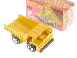 Matchbox 58 E Superfast Faun Dump Truck Muldenkipper MIB Box OVP