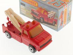 Matchbox 61D Superfast Wreck Truck Abschlepper rot MIB Box OVP