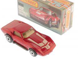Matchbox 62 F Superfast Chevrolet Corvette perfekte Box!!! OVP