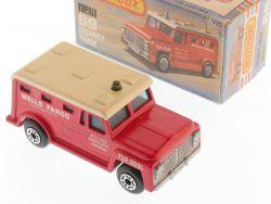 Matchbox 69 E Superfast Security Truck Wells Fargo NMIB Box OVP