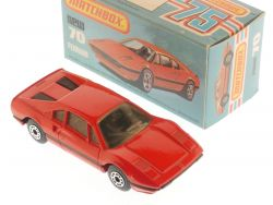 Matchbox 70 E Superfast Ferrari 308 GTB Mint Model Box OVP