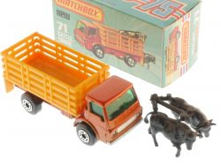 Matchbox 71E Superfast Cattle Truck orange LKW Dodge MIB Box OVP