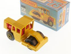 Matchbox 72 D Superfast BOMAG Road Roller MIB perfekte Box! OVP