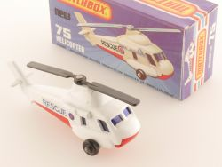 Matchbox 75 D Superfast Seasprite Helicopter Rescue Near MIB OVP