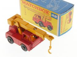 Matchbox 42 C regular Iron Fairy Crane 1969 Nearest MINT Box OVP