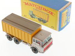 Matchbox 47 C regular wheels DAF Tipper Truck Nearest MIB  OVP