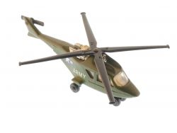 Matchbox SB-20 Skybusters Helicopter Army Military 1977