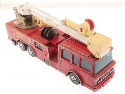 Matchbox K-39 Super Kings Snorkel Fire Engine Feuerwehr