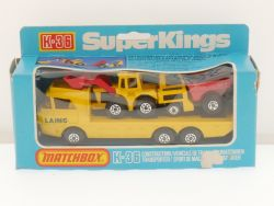 Matchbox K-36 Super Kings Construction Transporter Lesney OVP