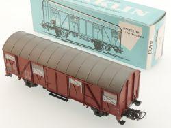 Märklin 4627 Gedeckter Güterwagen DB 1965 bl. Karton H0 OVP