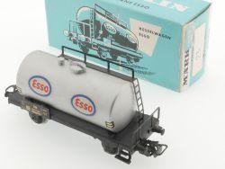 Märklin 4501 Kesselwagen Esso 1968 Karton Tankwagen schön!