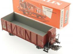 Märklin 4601 Offener Güterwagen Hochbordwagen Bremserhaus TOP! OVP