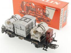 Märklin 4625 Behälterwagen DB von Haus zu Haus 1964 schön! OVP