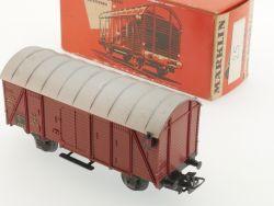 Märklin 4506 Gedeckter Güterwagen mit Schlusslaternen lesen! OVP