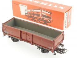 Märklin 4602 Offener Güterwagen Omm 52 DB 862226 schön! OVP