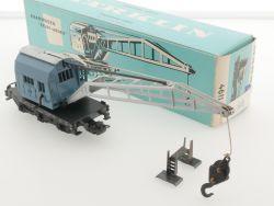 Märklin 4611 Kranwagen Krupp-Ardelt 1966 hellblauer Karton OVP