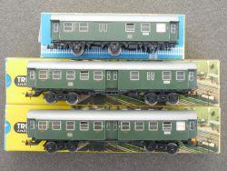 Trix Konvolut 3x Personenwagen Umbauwagen 3725 3775 3776 DC OVP