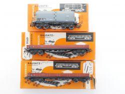Märklin Konvolut 3x Güterwagen 4914 u.a.ex Bausatz 4514 4621 OVP