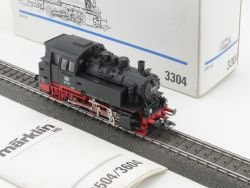 Märklin 3304 Dampflok BR 80 030 DB Metallgehäuse wie NEU!  OVP