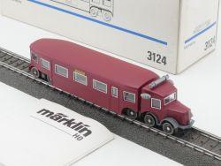 Märklin 3124 Schienenbus Micheline Frankreich AC neuwertig OVP