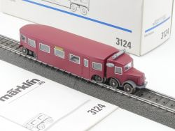 Märklin 3124 Schienenbus Micheline Frankreich H0 AC wie NEU! OVP