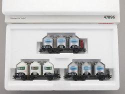 Märklin 47896 Güterwagen-Set Henkel Silowagen KKK NEU! OVP