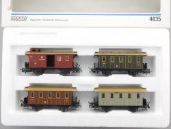 Märklin 4035 Wagen-Set Preußische Personenwagen KPEV wie NEU OVP