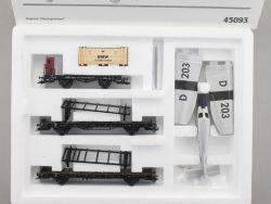 Märklin 45093 Set Flugzeug-Transport DRG Junkers BMW NEU! OVP