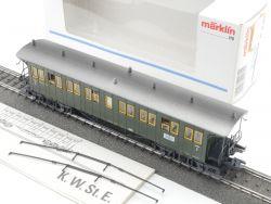 Märklin 42102 Personenwagen 3. Kl K.W.St.E. 42131 wie NEU! OVP