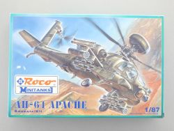 Roco 718 Minitanks AH-64 Apache KIT Kampfhelikopter 1:87 TOP OVP