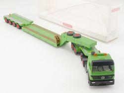Wiking 5050335 MB Zugmaschine mit Tieflader WiMo Bau NEU! OVP