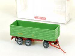 Wiking 3880627 Dreiachs-Anhänger Brantner Traktor 1:87 NEU! OVP