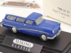 Wiking 7990830 Klassik Opel Caravan '57 100 Jahre 1:87 NEU! OVP