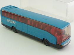 Wiking 7140636 Mercedes MB O 404 RHD Reisebus Werbemodell