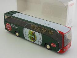 Wiking 7140441 MB O 404 Mannschaftsbus Fortuna Düsseldorf NE OVP