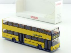 Wiking 7310433 MAN D 89 Berliner Doppeldeckbus #119 1:87 NE  OVP