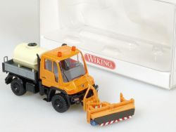 Wiking 6464048 MB Unimog U400 Vorbau-Kehrmaschine NEU! OVP