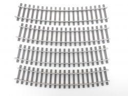 Märklin 5935 4x gebogenes Gleis Gebogene Spur1 R=1020 mm TOP