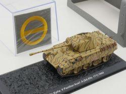 Atlas 7156101 Panther Kampfwagen V Abzeichen Vitrine 1:72 NEU! OVP
