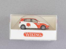 Wiking 0710534 Volkswagen VW Polo Notarzt DRF Modellauto NEU OVP