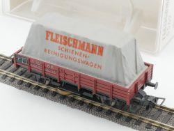 Fleischmann 5569 Schienenreinigungswagen mit Ersatzpads TOP! OVP