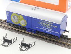 Roco SoMo Güterwagen 52. Spielwarenmesse 2001 Euro NEU! OVP