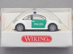 Wiking 1041027 VW Volkswagen New Beetle Polizei 1:87 H0 NEU! OVP