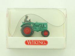 Wiking 8770121 Fahr Schlepper Traktor Trecker grün 1:87 NEU! OVP