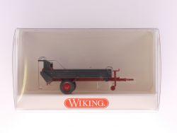 Wiking 8870120 Stalldung-Breitstreuer Anhänger für Traktor NEU! OVP