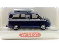 Wiking 03080534 VW Volkswagen Multivan mit Dachbox 1:87 NEU! OVP