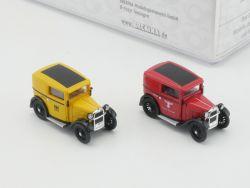 Brekina 018089 BMW Dixi in Postdiensten Reichspost und DBP OVP