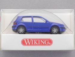 Wiking 0570222 Volkswagen VW Golf IV blau 1:87 H0 NEU! OVP