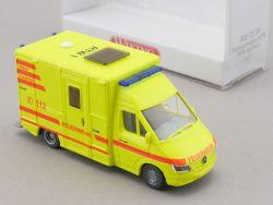 Wiking 3210230 MB Mercedes Sprinter Rettungswagen RTW NEU! OVP