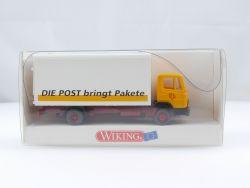 Wiking 55204 MB 814 PTT Koffer Die Post bringt Pakete LKW NE OVP